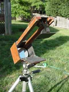 Bob's Pringle's Travel Telescope