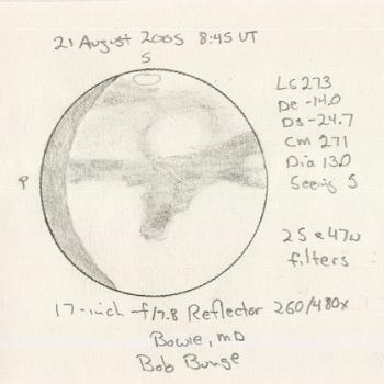 Mars on 2005/08/21