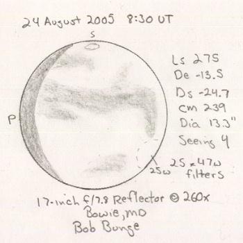 Mars on 2005/08/24